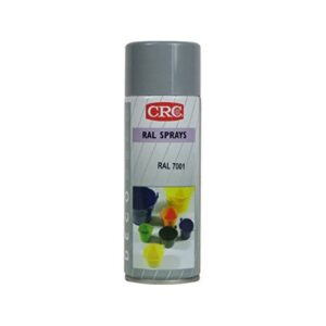 CRC 32410-AA Spray de pintura, gris plata, 400 ml