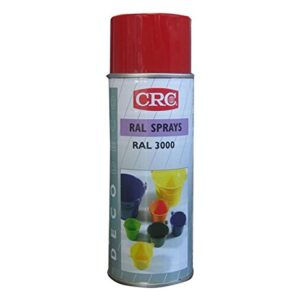 CRC 32416-AA Spray de pintura, rojo fuego, 400 ml