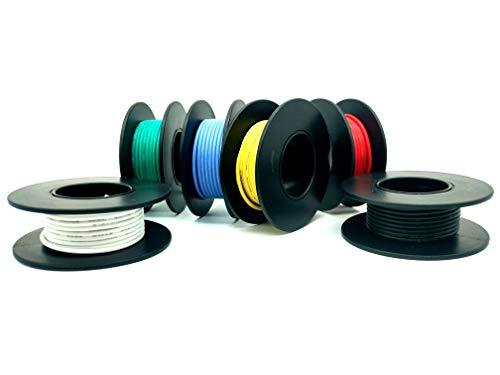 Cable 18 AWG Cable de silicona de 5 m Cable de cobre estañado ...