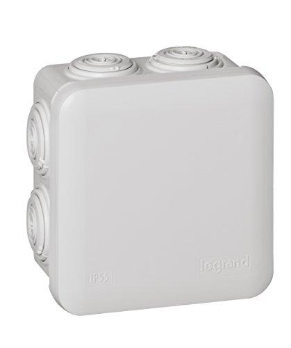 Caja de conexiones eléctricas Legrand 92012, 90x90x50 mm