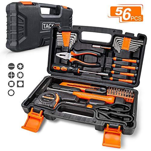 Caja de herramientas TACKLIFE 56 piezas, caja de herramientas HHK3B ...