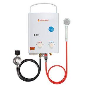 Calentador de agua a gas Camplux AY132, prop ...