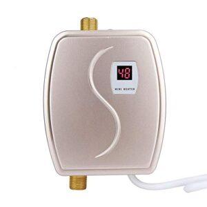 Calentador de agua instantáneo, mini calentador eléctrico, 3 ...