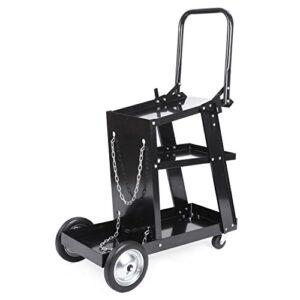 Carro de taller Fixkit Welding Cart con 3 estantes Sta ...