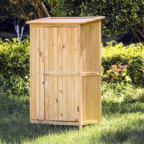 Caseta de jardín Casa de 1 puerta para herramientas y ...