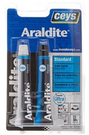 Ceys 510107 Adhesivo araldit Standard Blister Grande, Azul, ...