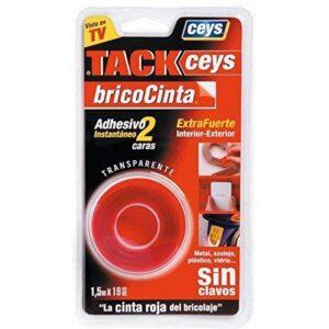 Ceys - Tack- cinta adhesiva de doble cara