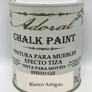 Chalk Paint Pintura para muebles Chalk Effect 750 ml (Blanco ...