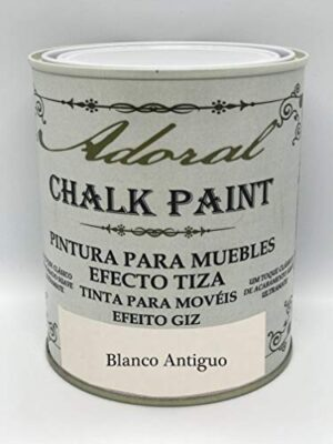 Chalk Paint Pintura para muebles Chalk Effect 750 ml (Blanco ...