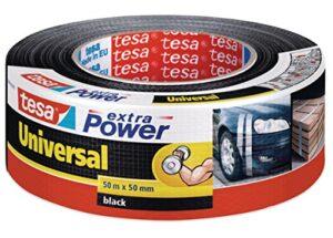 Cinta adhesiva americana Tesa (50 m x 50 mm) negra
