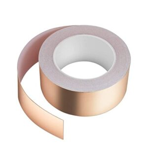 Cinta adhesiva de cobre Vegena, 30 mm x 50 m Cinta de cobre ...