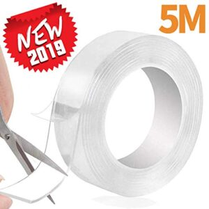 Cinta adhesiva lavable de doble cara Nano Tape de 5M, Magic Tap ...