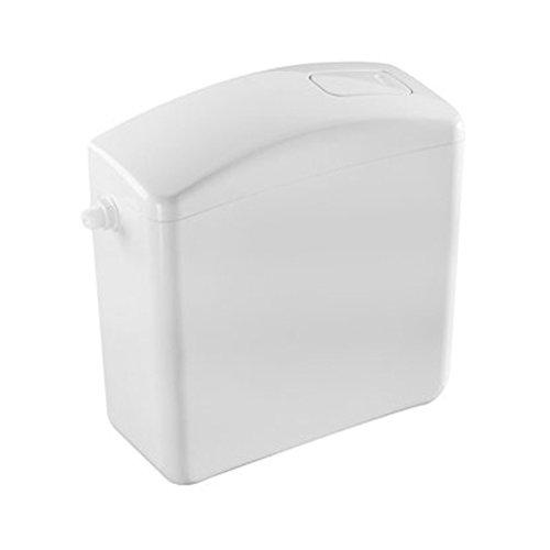 Cisterna de inodoro Domino con botón de bajo consumo # ...