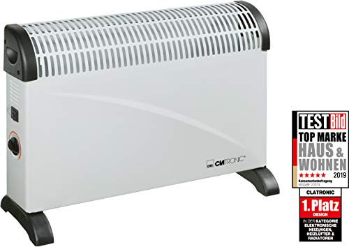 Clatronic KH 3077 - Convector con termostato ajustable, 3 ...