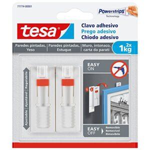 Clavo adhesivo ajustable Tesa, ideal para pinturas, para pare ...