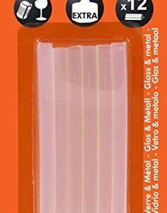 Cleopatre - PO12REF - Paquete de 12 barras de pegamento extra fuertes