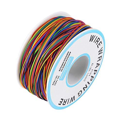 Cobre estañado N / P B-30-1000 280M 30AWG 280M Cable de embalaje ...