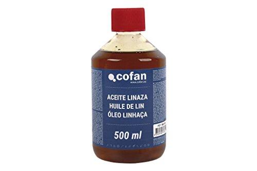 Cofan 15801031 Aceite de linaza, 500 ml.