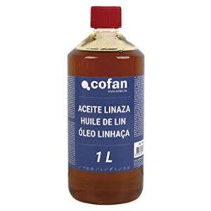 Cofan 15801032 Aceite de linaza, 1 L