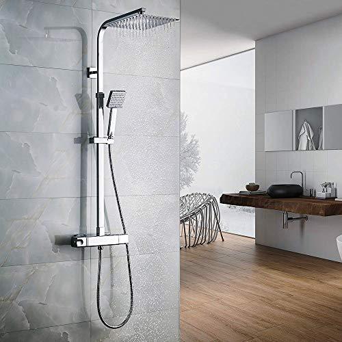 Columna de ducha termostática Auralum Conjuntos de ducha Mix ...