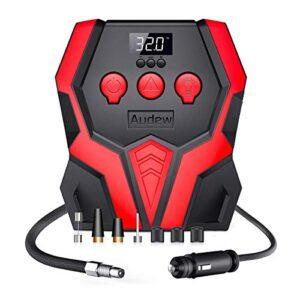 Compresor de aire portátil Audew Mini bomba de aire eléctrica ...