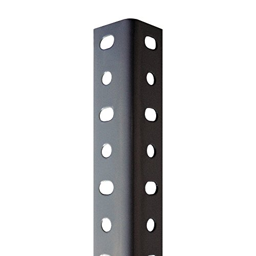 Conjunto de estanterías de perfil gris con tornillos de 35 mm x 2000 mm ...