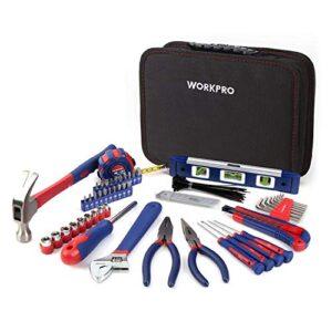 Conjunto de herramientas básicas y accesorios WORKPRO ...