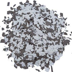 Copos Copos decorativos para pisos de epoxy gris-blanco W750 ...
