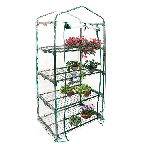 Cubierta de invernadero para plantas de PVC, accesorio de re ...