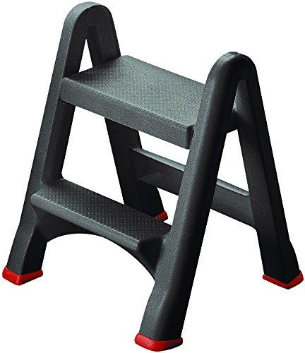 Curver - Taburete plegable de escalera con 2 peldaños - Color ...