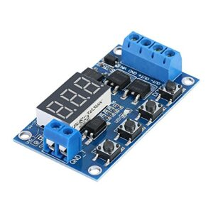 DC 5-36V Digital LED Relay Plate Temp Delay Module ...