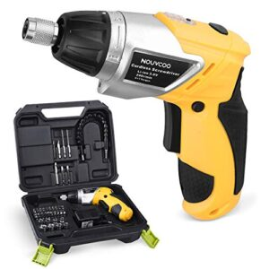 Destornillador eléctrico 47 piezas, destornillador inalámbrico ...