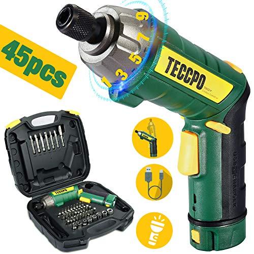 Destornillador eléctrico 6N.m, destornillador eléctrico TECCPO ...