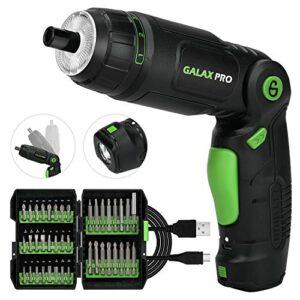 Destornillador eléctrico inalámbrico, destornillador GALAX PRO ...