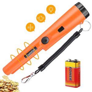 Detector de metales portátil con escaneo de batería, HOMPO ...