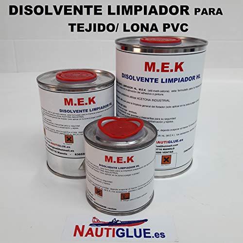 Disolvente limpiador NAUTIGLUE MEK para tela de PVC (1 litro ...