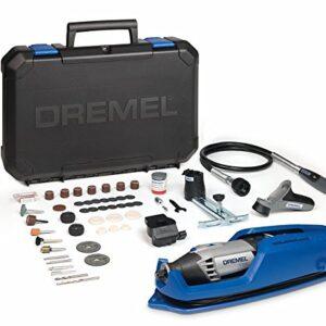 Dremel 4000 - Multiherramienta, 175 W, kit con eje flexible, ...