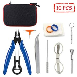 E-Cigarette DIY Tool Kit (10 en 1 Kits) para RDA ...