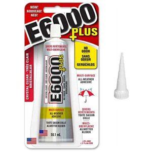 E6000 Plus Pegamento artesanal y tela con punta de corte, madera, vi ...