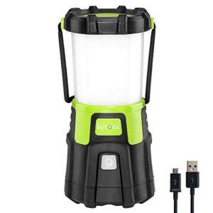 EULOCA 21200LM recargable, ajustable 4 modos, linterna para ...