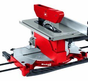 Einhell - TH-MS 2112 T - Máquina de ingletes de doble corte, 1200 W, ...
