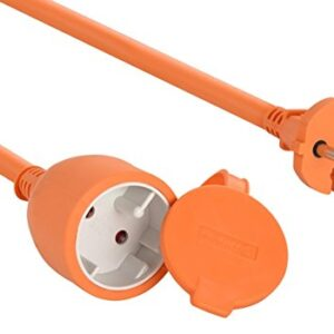 Electraline 01357 Cable de extensión eléctrico para jardín (30 ...