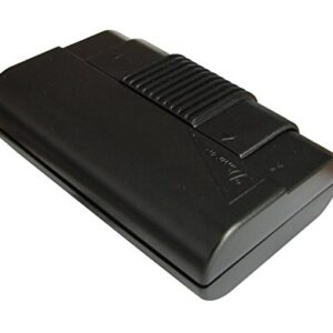 Electraline 572120 - Interruptor de pie, color negro