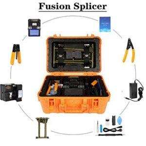 Empalmador de fusión de fibra óptica, empalmador de fibra óptica ...