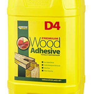 Everbuild D4 adhesivo para madera 25ltr D425, blanco