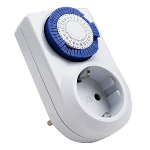 ExtraStar Enchufe eléctrico temporizador digital mecánico ...