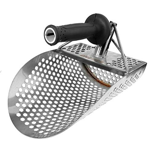 Faderr - Pala de arena para detección de metales, detector de metales ...