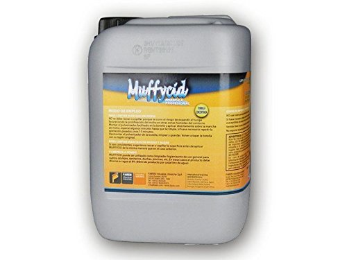 Faren 414005 - El recipiente de 5 litros elimina el moho muffycido