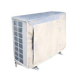 Faviye - Aire acondicionado con cubierta antipolvo para exteriores ...