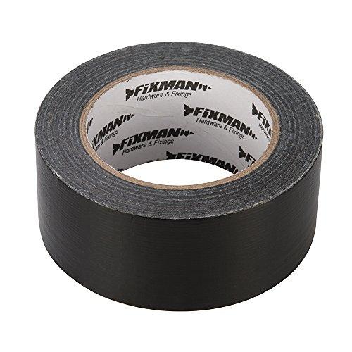 Fixman 188845 - Cinta americana (tamaño: 50 mm) Negro